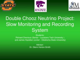 Double Chooz Neutrino Project: Slow Monitoring and Recording System