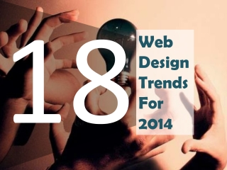 18 Hottest Web Design Trends for 2014
