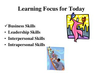Learning Focus for Today