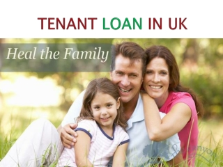 Tenant Loan In UK