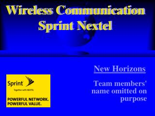 Wireless Communication Sprint Nextel