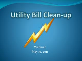 Utility Bill Clean-up
