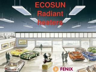 Radiant Heaters  for ceiling mounting
