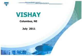 VISHAY Columbus, NE