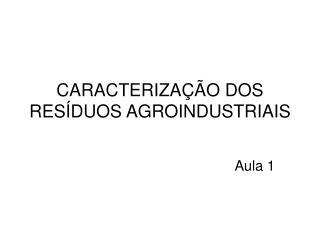 caracteriza