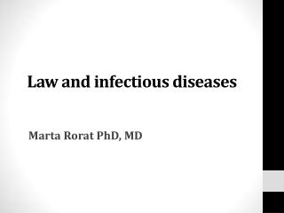 Choroby zakazne
