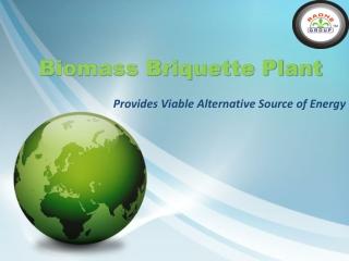 Biomass Briquette Plant Project for Alternative Source of En