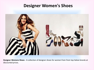 Designer Women Shoes