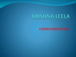 Selvam Siddhar | Commander Selvam Siddhar | Siddhar Selvam