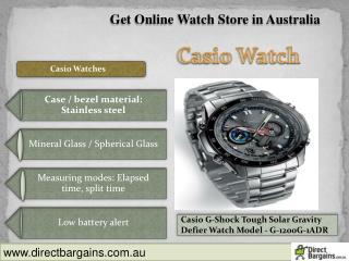 Get Casio Mens