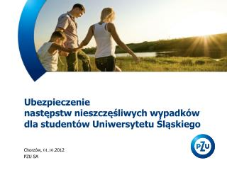 Ubezpieczenie  nastepstw nieszczesliwych wypadk w  dla student w Uniwersytetu Slaskiego