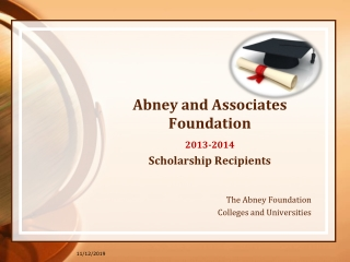 Abney and Associates Foundation 2013-14 Scholarship Recipien