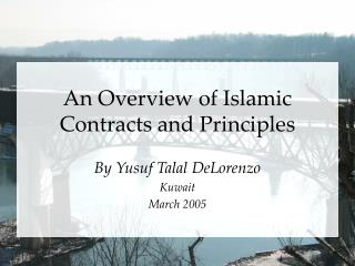 An Overview of Islamic Contracts and Principles