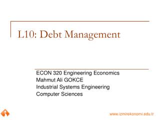 L10: Debt Management