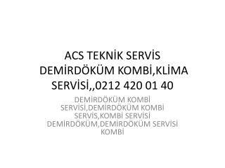 sultangazi demirdöküm kombi servisi,,0212 420 01 40= hidrofo