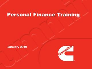 Personal Finance Training