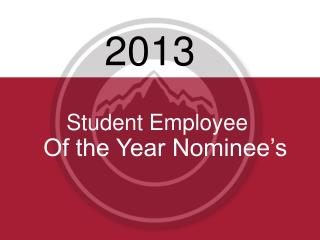Student Employee