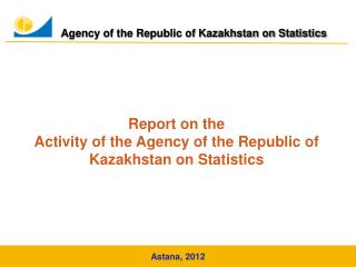Agency of the Republic of Kazakhstan on Statistics