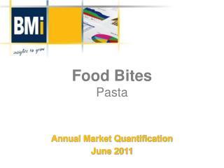 Food Bites Pasta