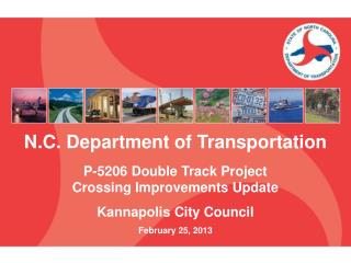 N.C. Department of Transportation