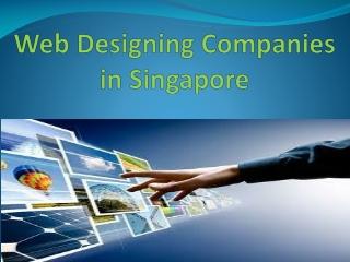 Web Designing Companies in Singapore
