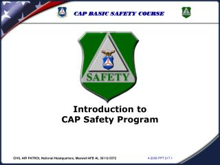 introduction to cap safety program