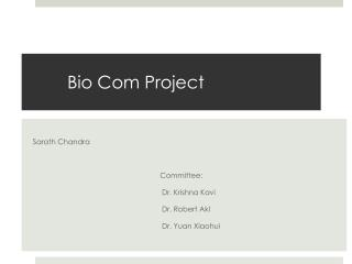 Bio Com Project