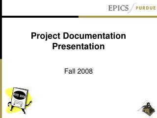 Project Documentation Presentation