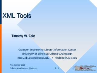 XML Tools