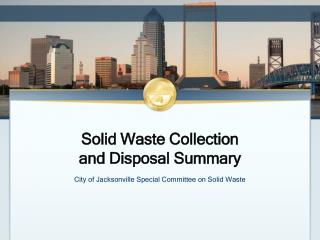 Solid Waste Collection  and Disposal Summary