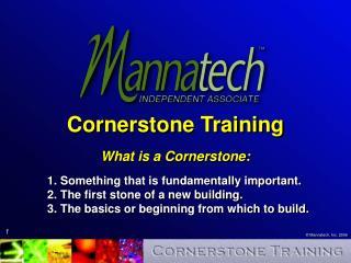 Cornerstone Training