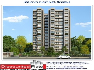bSafal Sameep South Bopal Ahmedabad by Safal Constructions