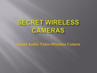 Secret Wireless Camera
