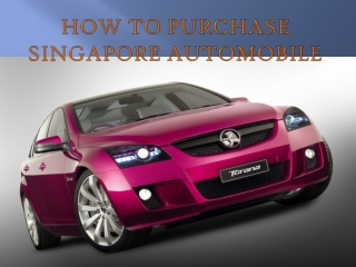Find a High Quality Car Shop in Singapore
