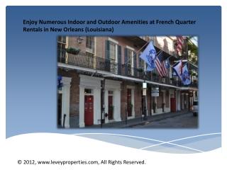 Fabulous French Quarter Townhouse