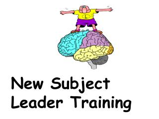 New Subject Leader Training