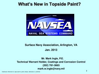 What s New in Topside Paint