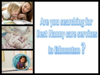 Best care giver in Edmonton