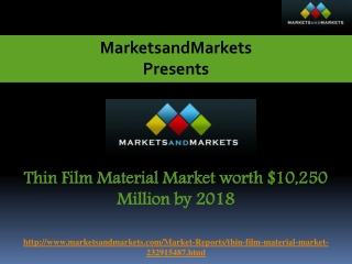 Thin Film Material Market worth $10,250 Million by 2018