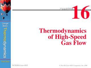 Thermodynamics of High-Speed Gas Flow