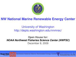 nw national marine renewable energy center  university of washington depts.washington