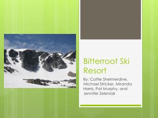 Bitterroot Ski Resort