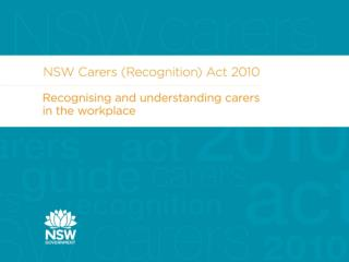 Carers Recognition Act 2010