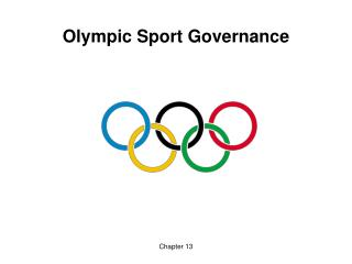 Chapter 13 Olympic Sport Governance