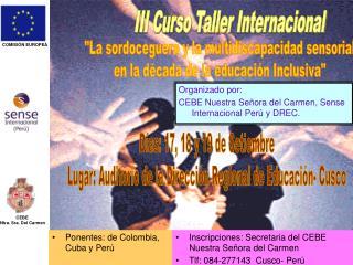III Curso Taller Internacional