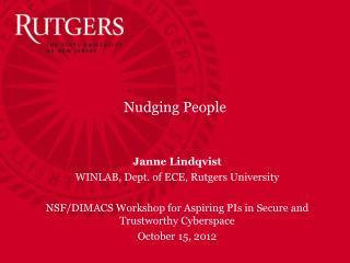 Nudging People