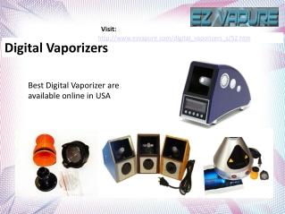 Digital Vaporizers - Ezvapure