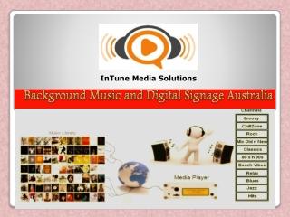 Background Music and Digital Signage Australia