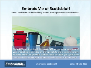 EmbroidMe of Scottsbluff : Embroidery, Screen Printing