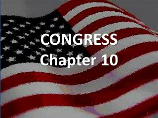 CONGRESS Chapter 10